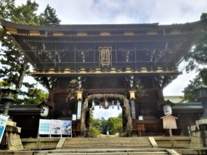 京都 北野天満宮 茅の輪