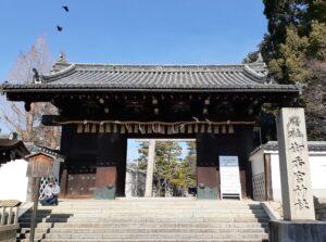 京都 御香宮 十六社